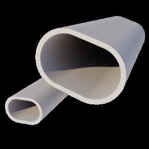 Profils tubes oblongs